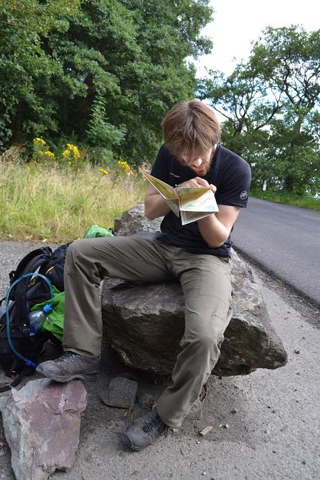 Immer vorausgesetzt, man ist fähig, eine Wanderkarte zu lesen.